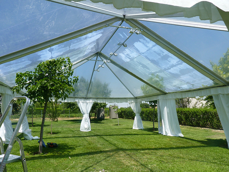 Прозрачные шатры аренда