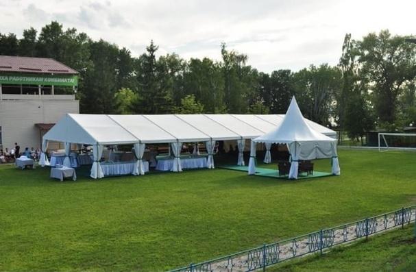 Изготовление и монтаж шатров