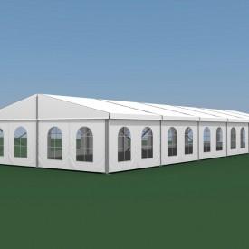 Двускатный шатер ширина 10 м