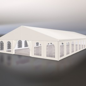 Двускатный шатер ширина 15 м