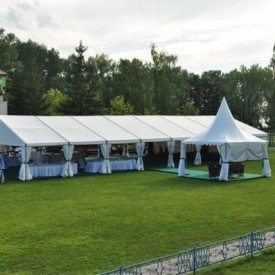 Продажа и изготовление шатров и тентовых конструкций